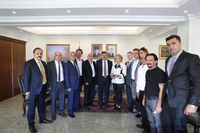 Ahilik Haftası Kapsamında İl Kutlama Komitesi Vali Sarıibrahim'i Ziyaret Etti
