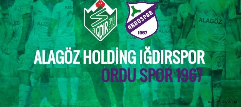 Alagöz Holding Iğdırspor'un Türkiye Kupasındaki Rakibi Belli Oldu
