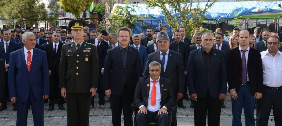 IĞDIR'DA GAZİLER GÜNÜ ANMA PROGRAMI DÜZENLENDİ