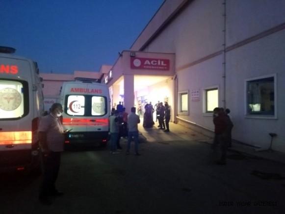 İki Aile Arasında Çıkan Kavgada Silahlar  Ateşlendi: 2'si Ağır 9 Kişi Yaralandı
