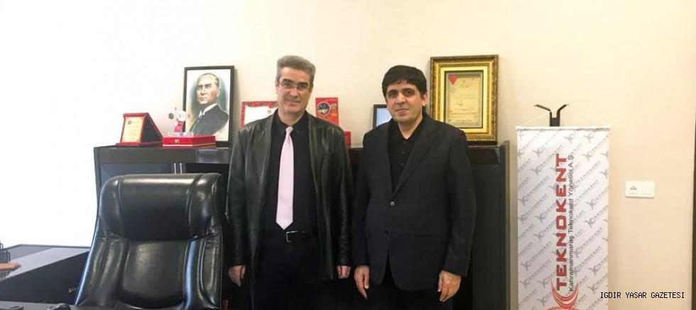 REKTÖR ALMA, KAHRAMANMARAŞ TEKNOKENT'İ ZİYARET ETTİ