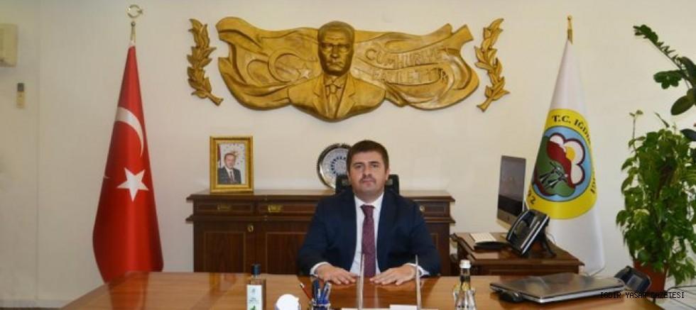 Vali/Belediye Başkan V. Sayın H. Engin Sarıibrahim'in