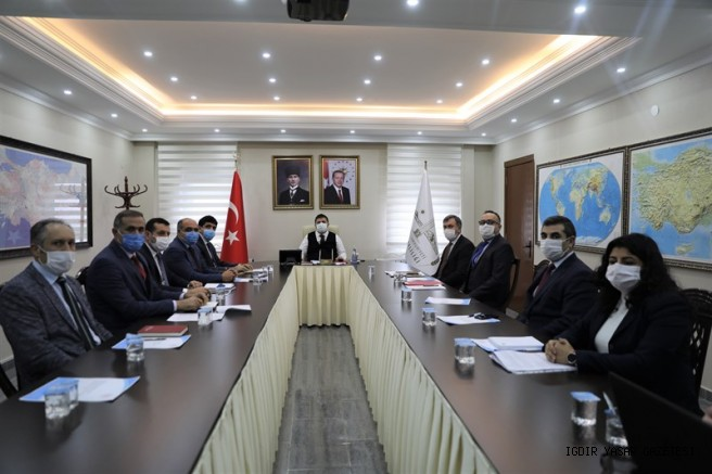 Vali Sarıibrahim Başkanlığında  KÜSİ Toplantısı Gerçekleştirildi